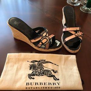 Burberry Wedged Heels